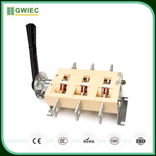 GWIEC Wholesale Products Electric Isolation Switch Change Over Knife Switch 100A