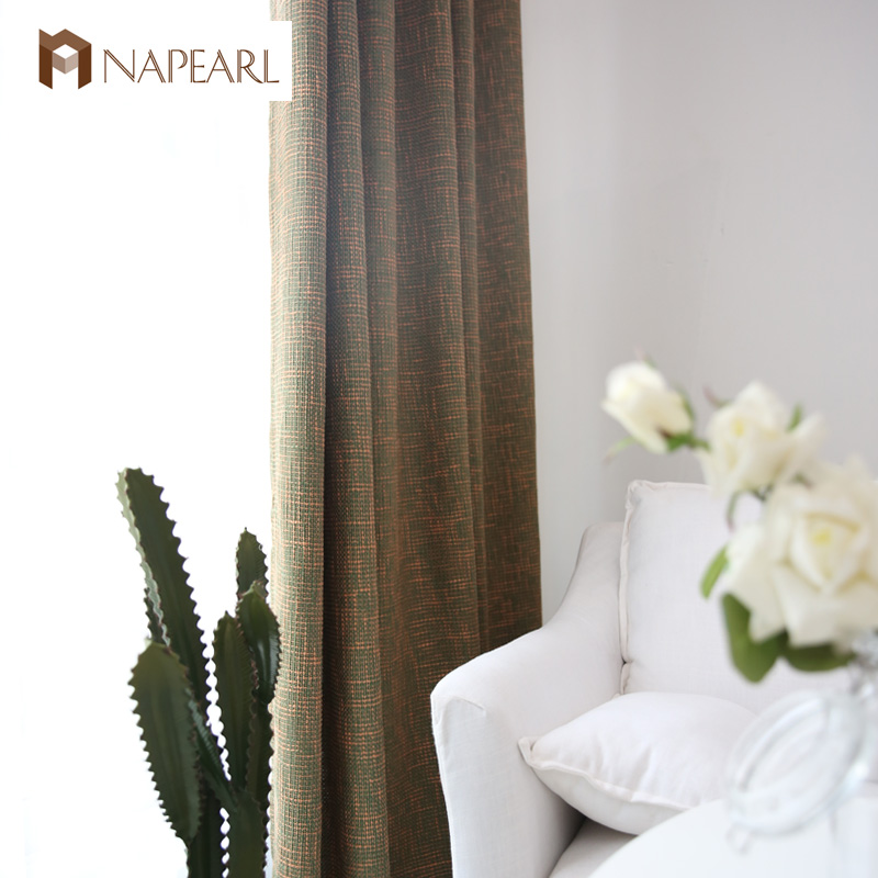 NAPEARL uv protection made to measure linen curtains
