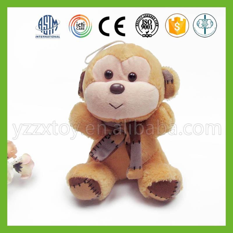 China wholesale small brown stuffed monkey toys