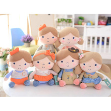 New Fashion Top Selling Super Cute Eco-friendly Stuffed Plush Girl Doll With Beautiful Navy Uniform