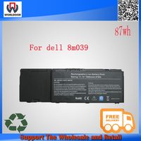 9CELL 85Wh 7800MAH Original 8M039 Laptop Battery for Dell Precision M6400 M6500 C565C