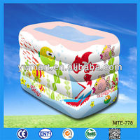 Safety inflatable baby pool, inflatable baby swimming pool, inflatable baby bath pool