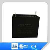 china low price metallized film ceilling fan ac motor run capacitor cbb61