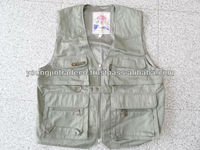 Used Clothing ,4-6 Pockets Fishing Vests