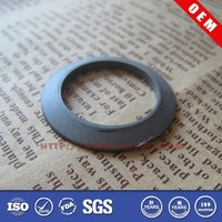Small rubber spacer for glass table