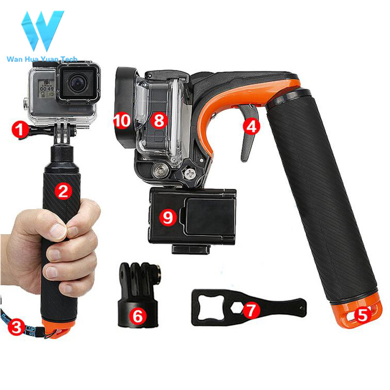 Shenzhen Factory Camera Accessories Shutter Trigger For Go Pro Hero6/5
