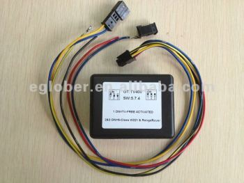 TV Free in motion interface for Mercedes-Benz NTG3 S CLASS W221 models