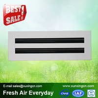 Air conditioning aluminum linear slot air grille diffuser