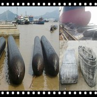 Marine Rubber Airbag Movine Ship And