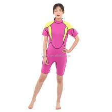 Top quality waterproof neoprene swimming smooth skin full body suit for men and women