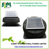 Solar vent fan to keep air cooling! solar powered 12 inch metal fan attic roof garage exhaust fan