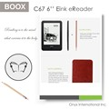 Top selling 6.0 inch eink screen ereader with android operation system