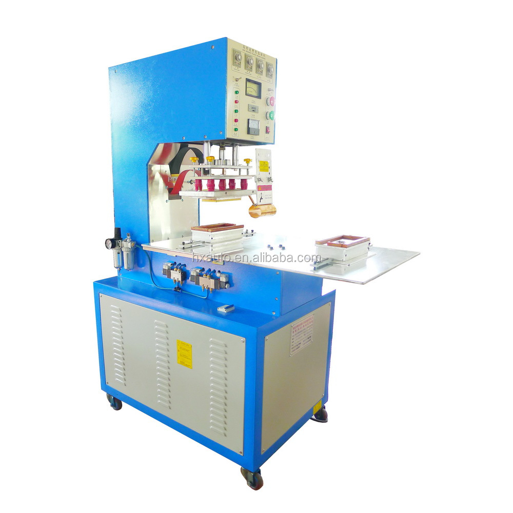 Automatic high frequency PVC Liquid tanks welding machine for PVC large covers