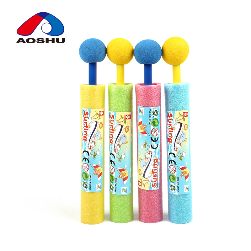 Children summer outdoor play plastic cannon toy mini foam water gun for sale