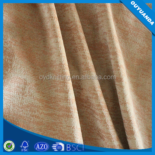 New Design Gold Foil Print Twill Fabric Polyester Twill Sofa/Curtain Textile Fabric