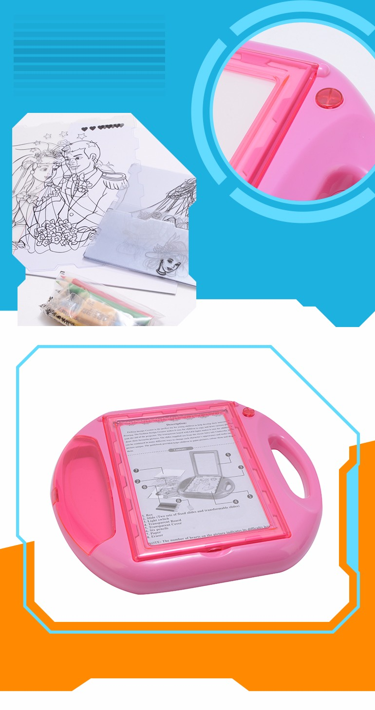 Top quality educational toys magic kids simplified edition drawing board for children