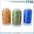 150D/2 cheap polyester embroidery thread with low shrinkage