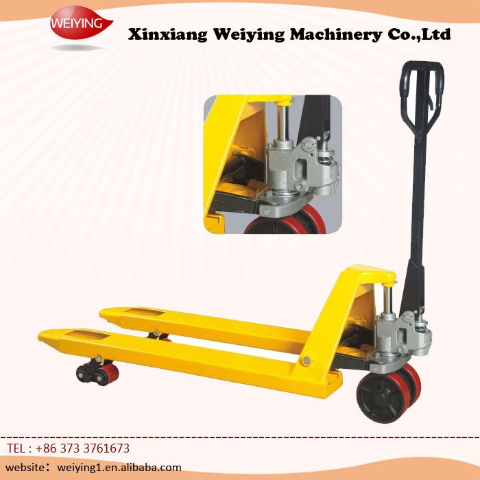China Supplier Hand Manual Forklift Price with hand pallet truck price