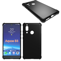 Crystal Clear Soft Skin TPU Phone Cases Cover For Aquos S3
