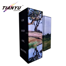 Fashion Used Exhibition Display Stand Fabric Trade Show Equipment