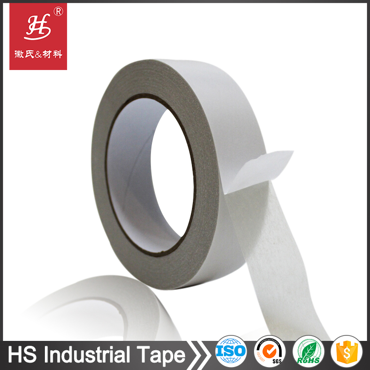 High adhesion double sided tissue paper adhesive tape for embroidery