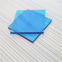 4mm thickness pc solid panel for window and roof with UV protect 10 years guarantee for road barrier