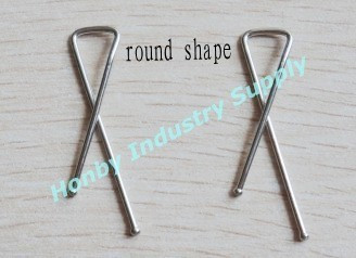 Assorted Style Metal X Shaped Shirt Clip For Shirt Packing
