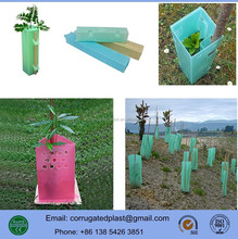 Polypropylene Animal Insect Proof Corrugated Tree Guards/Protectors