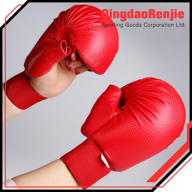 More Fashionable Service Custom Personalized Boxing Karate Mitts Pu Fighting Gloves
