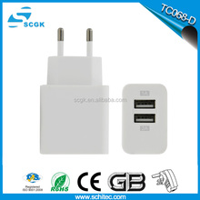 2016 EU plug USB Adapter 5V 2A Wall Charger for samsung S4 S5