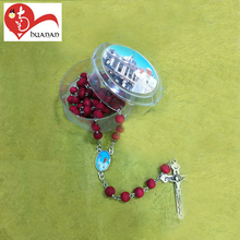 Huanan Wholesale Friendly Cheap Religious Christian Rosary Bead Chain