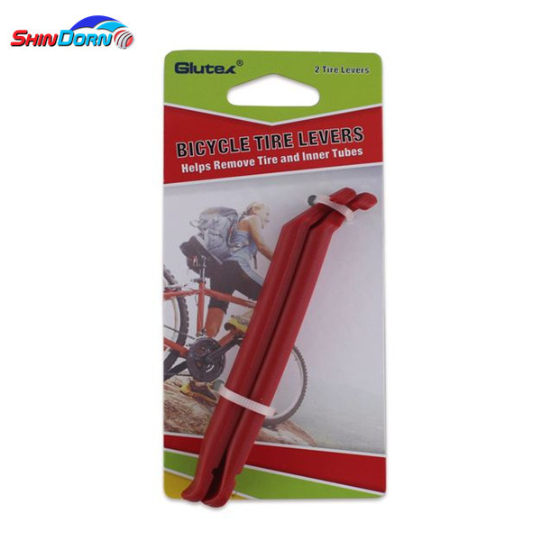 Extra strong bicycle plastic tire levers, tyre puncture repair