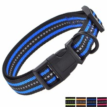 Free Sample Reflective Nylon Custom Most Popular Dog Pet Collar For Large,Medium,Small Dogs