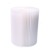 Creative paper furniture,Portable small stool,Pure manual round stool folding stool (white-colored)