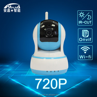 wireless cctv ip camera, 720P network cctv