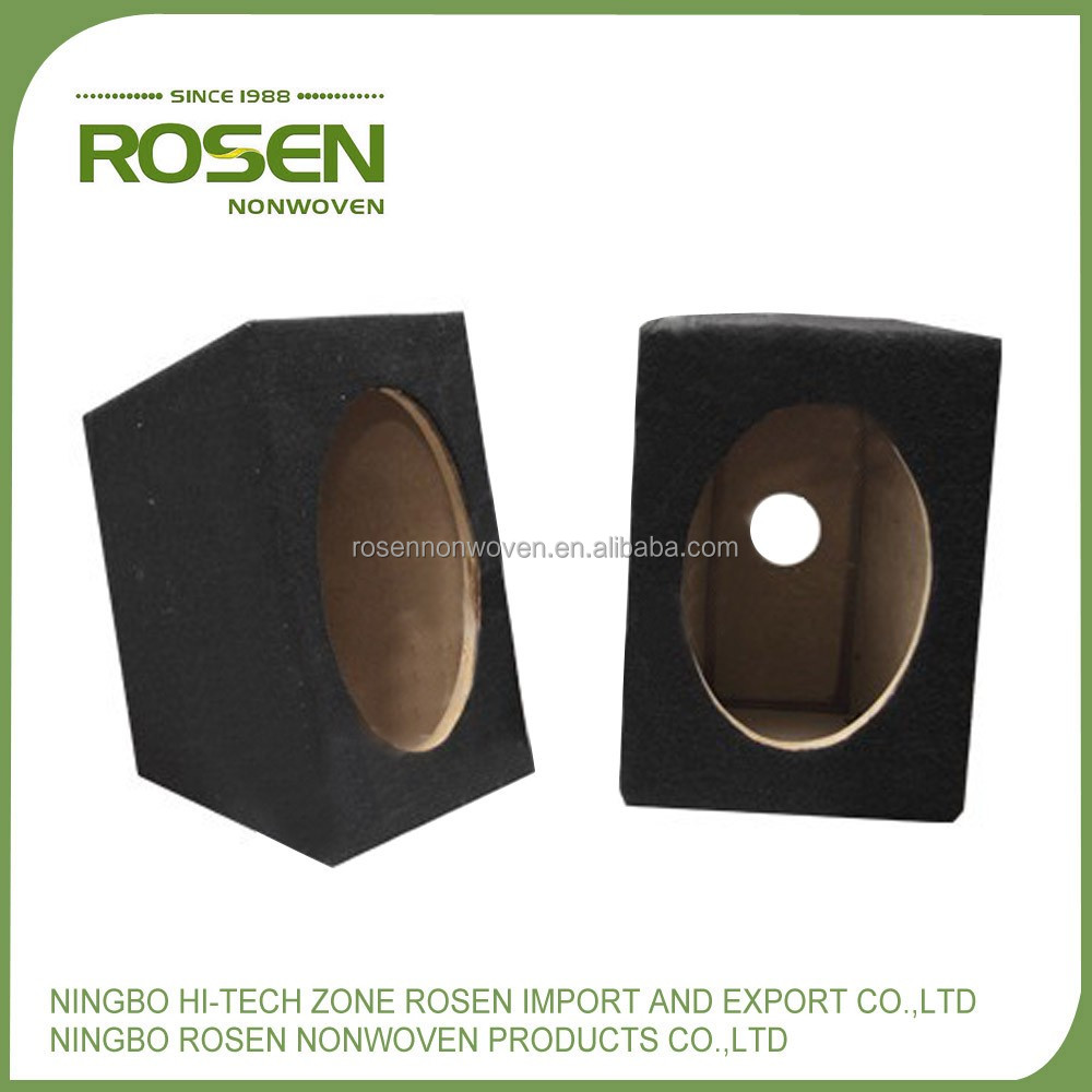 RS NONWOVEN high quality eco-friendly needle punch nonwoven polyester felt for speaker box