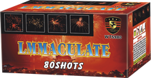 "1.2""80s Lmmaculate cake fireworks for big show and celebration festivals"