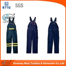 YSETEX 2016 new design fire retardant working trousers for oil&gas industry