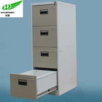China electrostatic coating 4 drawer office filing cabinet low price/wall mounted drawer cabinet