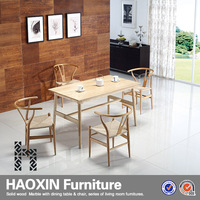 Long narrow retangle wooden dining table designs,morden dinning table for sale