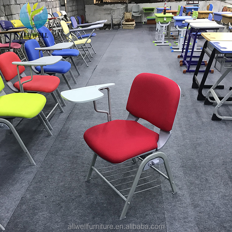 School furniture tables and chairs student chair with tablet