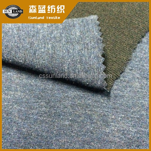 yarn dyed cotton polyester spandex knit jersey fabric for lady fit dress