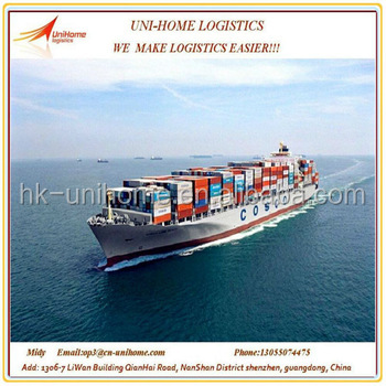 cheapest sea shipping service from China to Jakarta, Indonesia skype: midy2014