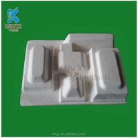 Brown Kraft Paper pulp tray .kraft paper tray, slide open box packaging tray
