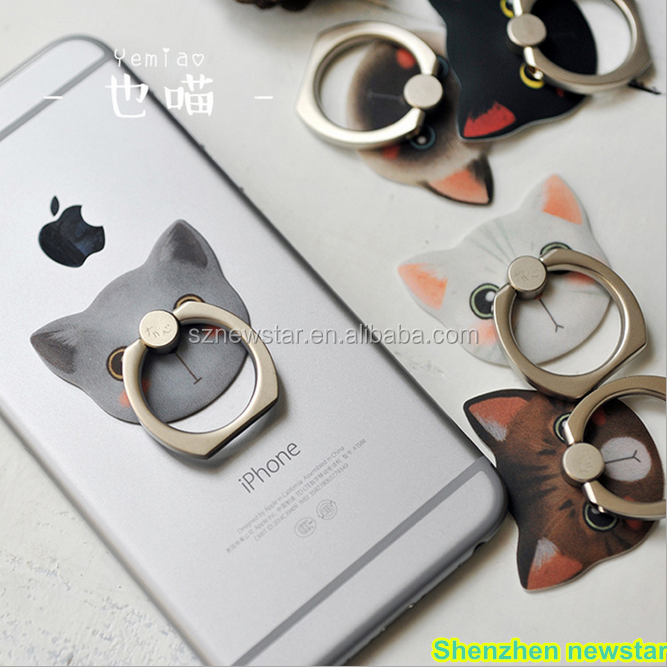 Ring Buckle Bracket Mobile Phone Holders from shenzhen newstar