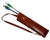 good quality leather archery arrow quiver case for archery hunting