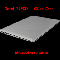 Cheap 14 Laptop Computer Notebook Celeron J1900 Quad Core 1G RAM 160G HDD Window 7/8 WIFI Webcam Portable Laptops PC 3 Color