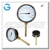 High quality black steel pipe thermometer