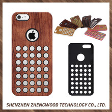 Economic and Reliable real wood mobile phone case wood mobile phone back cover for Apple iPhone