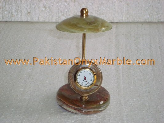 Onyx Umbrela Clock manufacture wholesaler and exporter from Pakistan